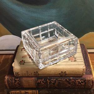 Lead Crystal Keepsake Box